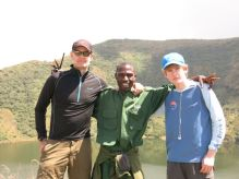 Tony, Fernando and Josh on Bisoke summit