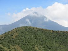 Karasimbi as viewed from Mount Bisoke