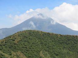 Karasimbi as viewed from Mount Bisoke