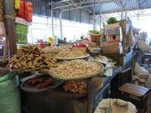 Visiting market in Kigali